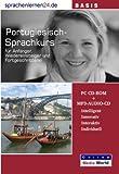 echange, troc Udo Gollub - Sprachenlernen24.de Portugiesisch-Basis-Sprachkurs: PC CD-ROM für Windows/Linux/Mac OS X + MP3-Audio-CD für Computer /MP3-Pla