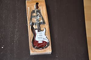 Fender Miniatur Gitarre Deko E-Gitarre Geschenkidee Dekoration Musikgitarre