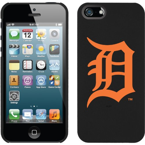 Best Price Detroit Tigers - D Orange design on a Black iPhone 5s / 5 Thinshield Snap-On Case by Coveroo