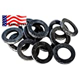 Garden Hose Heavy Duty Rubber Washer 12 pack MADE IN USA used by Aero Space & Aircraft OK washing machine hot water & outdoor garden hose temp -45