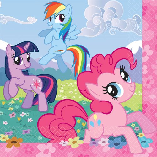 American Greetings My Little Pony Lunch Napkin - 1