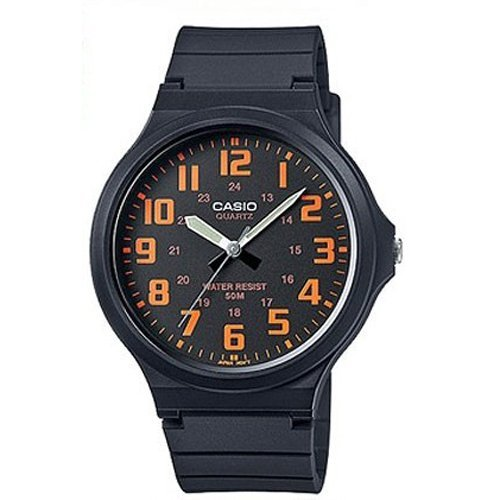 Casio Reloj con movimiento cuarzo japonés Unisex Mw-240-4B  44 mm