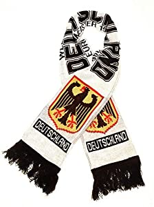 Buy Germany National Soccer Team - Premium Fan Scarf,Ships from USA by Premiership