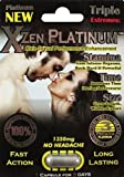 Xzen Platinum1350mg Male Sexual Performance Enhancement 2 count package