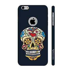 Enthopia Designer Hardshell Case Skull Art Back Cover for Apple Iphone 6, 6s With Hole