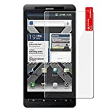 Generic MC0087 Screen Protector for Motorola DROID X/X2 MB810 - Non-Retail Packaging - Clear