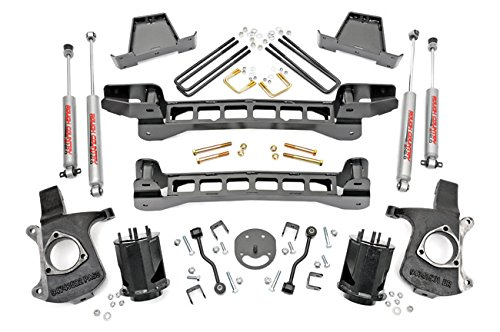 Rough Country Suspension 234N2 Suspension Lift Kit (6 Inch Suspension Lift Kit compare prices)
