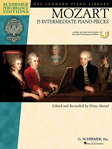 15 Intermediate Piano Pieces (Schirmer Performance Editions)