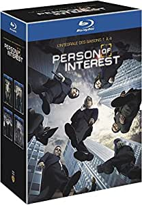 Person of Interest - Saisons 1 à 4 [Blu-ray] IMPORT Region Free in French and English