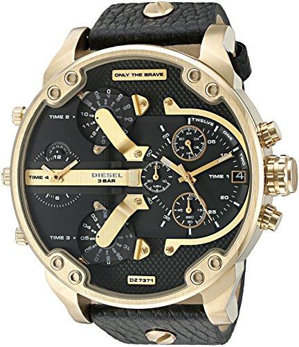 diesel-mens-dz7371-mini-daddy-gold-black-leather-watch
