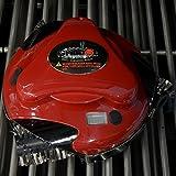 Grillbot - der Grillreinigungsroboter. Farbe: Rot