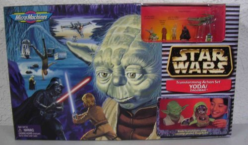 Star Wars Micro Machines Transforming Action Set Yoda DagobahB001D2Z6Z8 : image