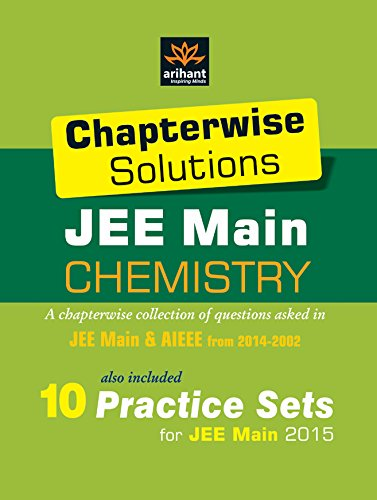 Chapterwise Solutions JEE Main: Chemistry (2014-2002) Image