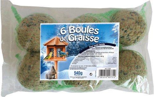 agrobiothers boules de graisses 540 g pour oiseaux et animaux sauvages 1 70. Black Bedroom Furniture Sets. Home Design Ideas