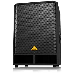 Professional Active 500-Watt 18-Inch PA Subwoofer with Built-In Stereo Crossover from MUSIC Group Commercial LU Sarl