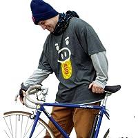 豊天 フェイクレイヤードTシャツ チャコール×グレー 1158-3624-1 [3L・4L・5L・6L] 大きいサイズ メンズ