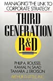 Third Generation R & D: Managing the Link to Corporate Strategy