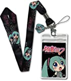 Vocaloid - Miku Hatsune Lanyard + Keychain Set Original & Licensed includes FREE Delivery