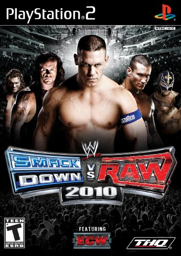 Wwe Smackdown Vs. Raw 2010 - Playstation 2 front-333403