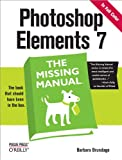 img - for Photoshop Elements 7: The Missing Manual (Missing Manuals) book / textbook / text book
