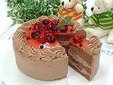 濃厚チョコ生クリーム苺デコレーションケーキ 【6号 18cm バースデーケーキ 誕生日ケーキ デコ】::7