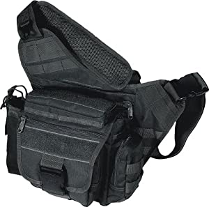UTG Taktische Tasche UTG Multi Functional Tactical Messenger Bag - Funda para armas de airsoft, color negro