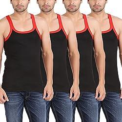 Zippy Men's Classic Sleeveless Black Vest