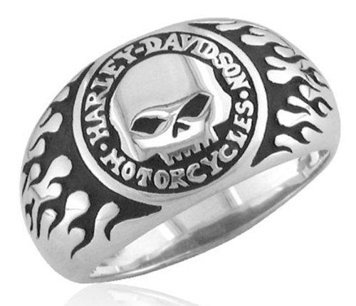 Harley-Davidson .925 Silver Skull Ring (11)