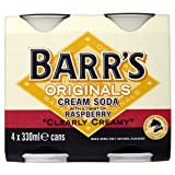Barr's Originals Cream Soda with Raspberry 8 x 330ml