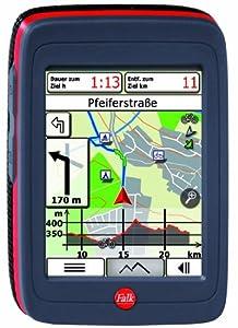 Falk Ibex 30 Schweiz Navigationsgerät (89mm Diagonale (3,5 Zoll) Display, Routingfähige Outdoorkarten für die Schweiz vorinstalliert, Track-Aufzeichnung, Routenplaner, IPX7 (wasserdicht), Wechsel Akku)
