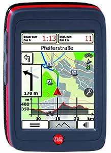 Falk Ibex 30 Austria Navigationsgerät (89mm Diagonale (3,5 Zoll) Display, Routingfähige Outdoorkarten für Österreich vorinstalliert, Track-Aufzeichnung, Routenplaner, IPX7 (wasserdicht), Wechsel Akku)