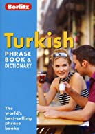 Turkish Berlitz Phrase Book and Dictionary  by