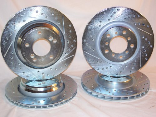 2006 thru 2010 BMW M5 E60 Front & Rear Brake