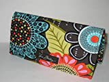 Vera Bradley Checkbook Cover in Flower Shower