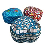 Indian Gift Decorative Boxes Home Decor Heart Handmade Jewelry Boxes Assorted Beaded Material Jewellery Gift Boxes