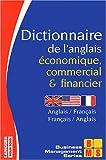 echange, troc Collectif - Dictionnaire de l'anglais économique, commercial et financier : anglais-français, français-anglais