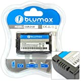 Blumax 7.2 V/950 mAh Li-Ion Battery for Panasonic CGR-D08S/D120 fits DZ-MX5000/NV-DS99EN/NV-DS99ENA/NV-EX3/NV-EX3EG/NV-GX7K/NV-MX8B/PV-DC252