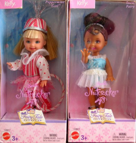 Barbie Kelly - Set of 2 Nutcracker Dolls Fairy Tale Collection (2003) - Buy Barbie Kelly - Set of 2 Nutcracker Dolls Fairy Tale Collection (2003) - Purchase Barbie Kelly - Set of 2 Nutcracker Dolls Fairy Tale Collection (2003) (Barbie, Toys & Games,Categories,Dolls,Fashion Dolls)