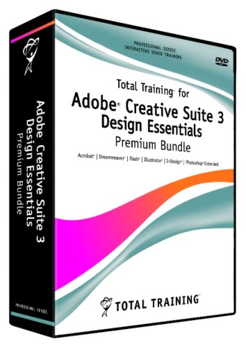 Total Training for Adobe Creative Suite 3 Design Essentials Premium Bundle (PC/Mac)