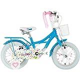 """Raleigh Rosina 14"""" Wheel Girls Aluminium Bicycle 4-6yrs"""