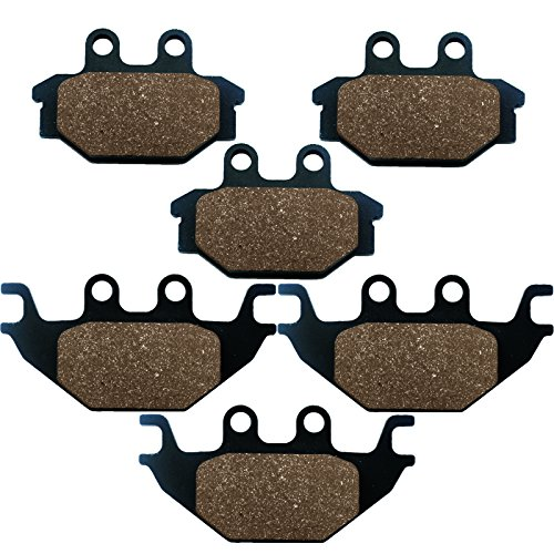 Caltric FRONT & REAR BRAKE PADS Fits CAN-AM DS250 DS-250 DS 250 2007-2013 (Can Am 250 compare prices)
