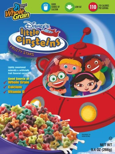 Buy Disney Little Einstiens Cereal, 9.4-Ounce Boxes (Pack of 12)