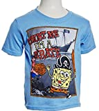 Little Boys Short Sleeve SpongeBob SquarePants T-Shirt
