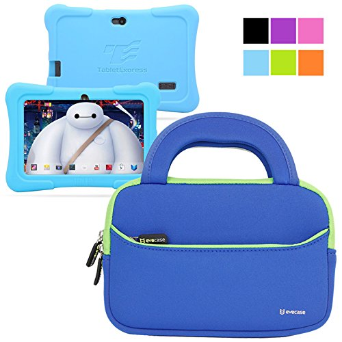 For Sale! Evecase Neoprene Sleeve Case Bag for Express Y88X 7-inch Kids / Dragon Touch Android Table...