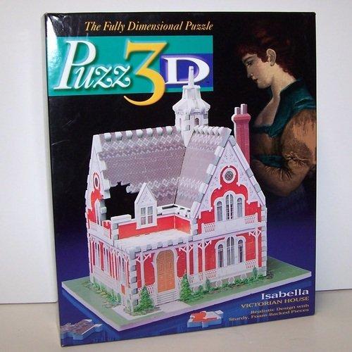 Cheap Milton Bradley Puzz 3D Isabella Victorian House (B001PIWE6Y)