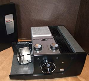 Kodak 500 Slide Projector 35mm Built In Stack Loader Portable