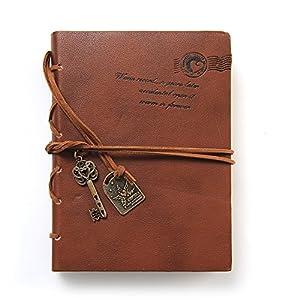 Casanet taccuino copertina vintage design in pelle con - Accessori per ufficio design ...