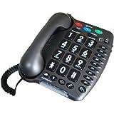 Geemarc AMPLIPOWER 50 Extra Loud Big Button Corded Telephone- UK Version