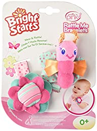 Bright Starts Pretty in Pink Rattle,…