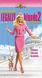 Legally Blonde 2: Red White & Blonde [VHS]